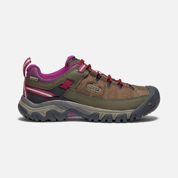Women's TARGHEE EXP Waterproof in CANTEEN/GRAPE WINE - large view.