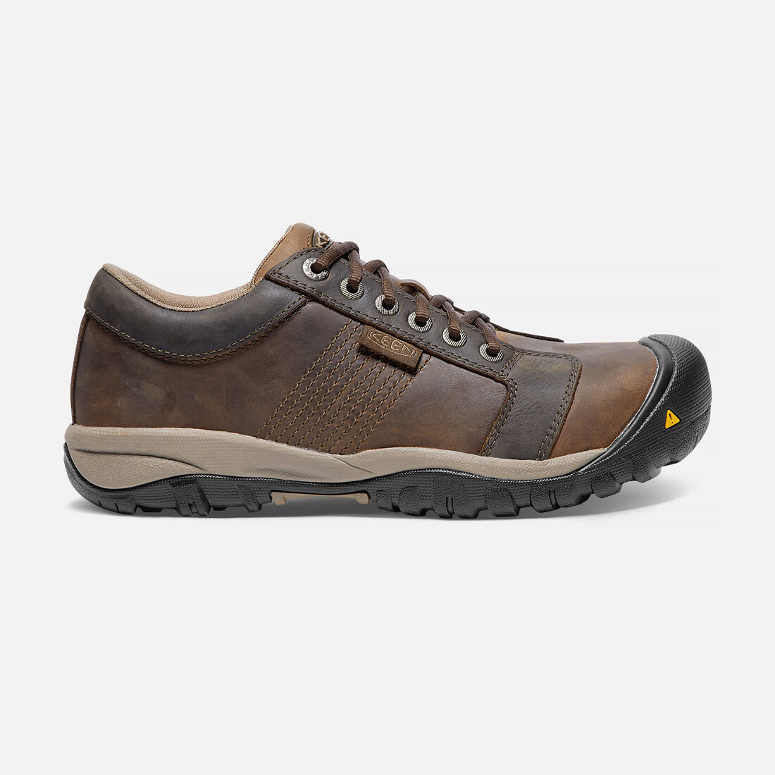 Men's LA CONNER ESD (Aluminum Toe) in Cascade Brown - large view.