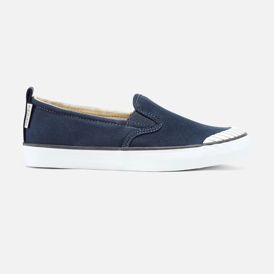 Women's Elsa Slip-On in Dress Blues - large view.