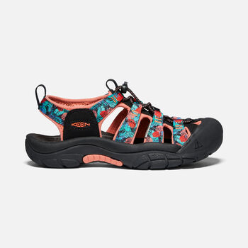Women's Newport H2 in Black Multi/Coral - large view.