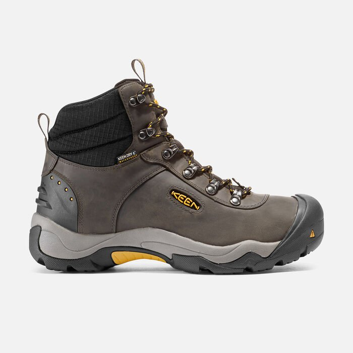 Men's Revel III Hiking Boots in Magnet/Tawny Olive - large view.