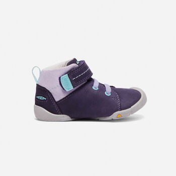 Toddlers' Pep Mid Boots in Purple Plumeria/Sweet Lavender - large view.