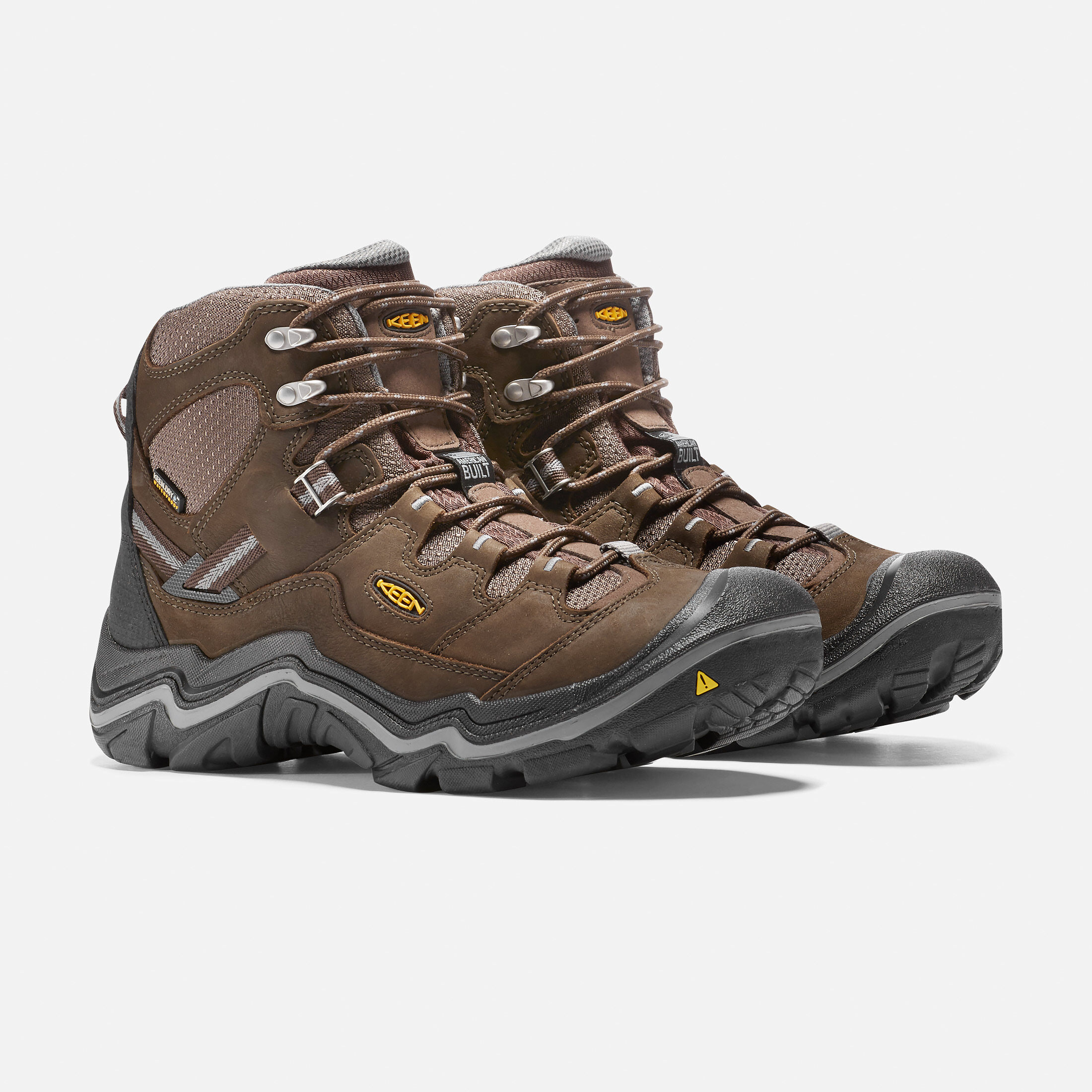 Keen Men Shoes Brown Leather Steel Toe Hiking Trail Waterproof Sandals Size 11.5 Sandals Men's Shoes