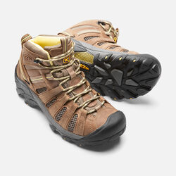 Women's Voyageur Mid in Brindle/Custard - small view.