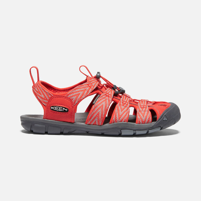 Men's Clearwater Cnx Sandals in Orange/Vapor - large view.