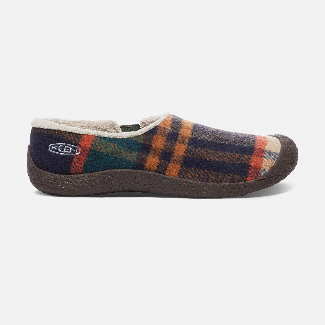 Women's Howser Wool Slide in Forest Night - large view.