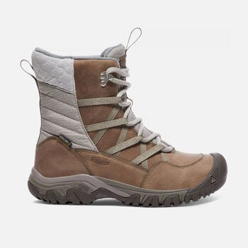 HOODOO III LACE UP BOTTES D'HIVER POUR FEMMES in Coconut/Plaza Taupe - large view.
