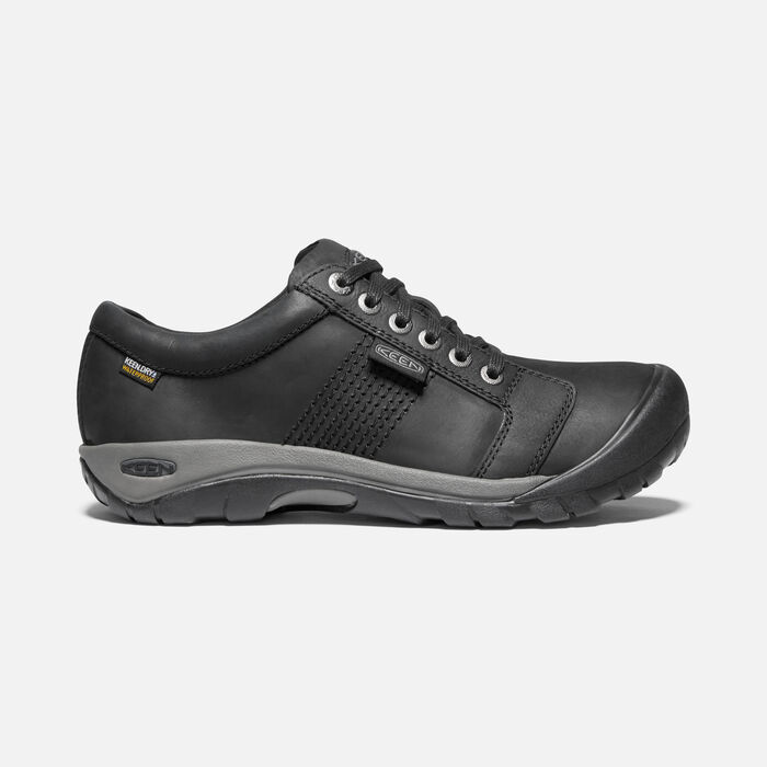 Men's Austin Waterproof in Black - large view.
