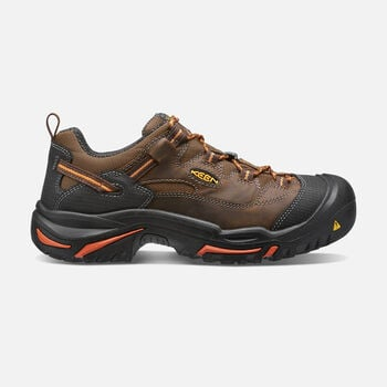 Men's Braddock Low (Soft Toe) in Cascade/Orange Ochre - large view.