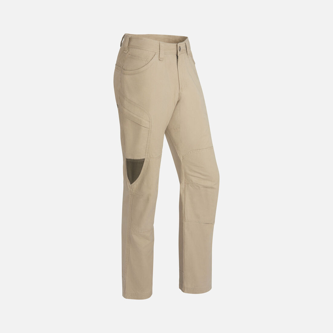 MEN'S NEWPORT CASUAL CARGO TROUSERS in Khaki/Olive Green - large view.