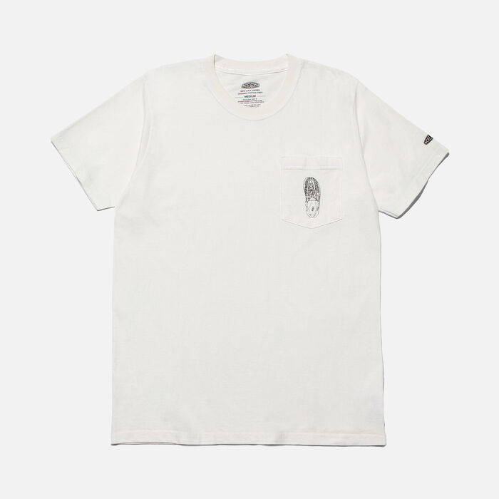 POCKET Tシャツ UNEEK in White - large view.
