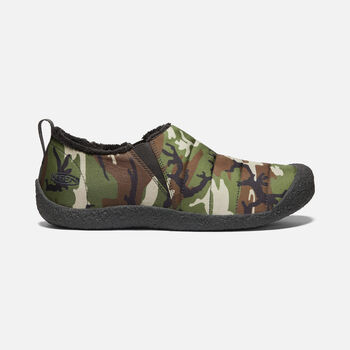Men's Howser II Slipper in CAMO/RAVEN - large view.