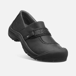 Women's Kaci Full Grain Slip-On in Black - small view.