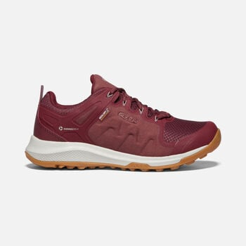 Women's Explore Waterproof Hiking Shoes in TAWNY PORT/SATELLITE - large view.