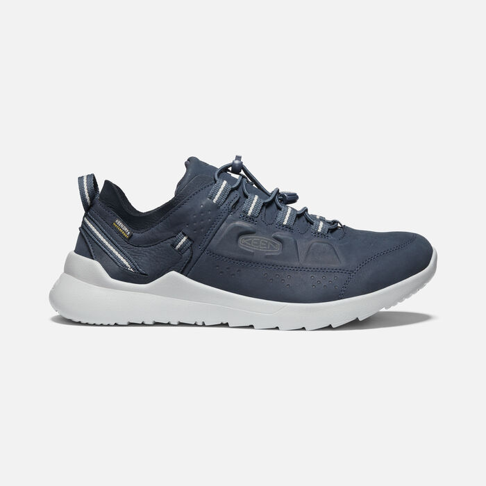 Men's Highland Waterproof Casual Trainers in Blue Nights/Drizzle - large view.