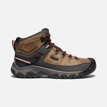 Men's TARGHEE III Waterproof Mid in BRINDLE/MAGNET - large view.