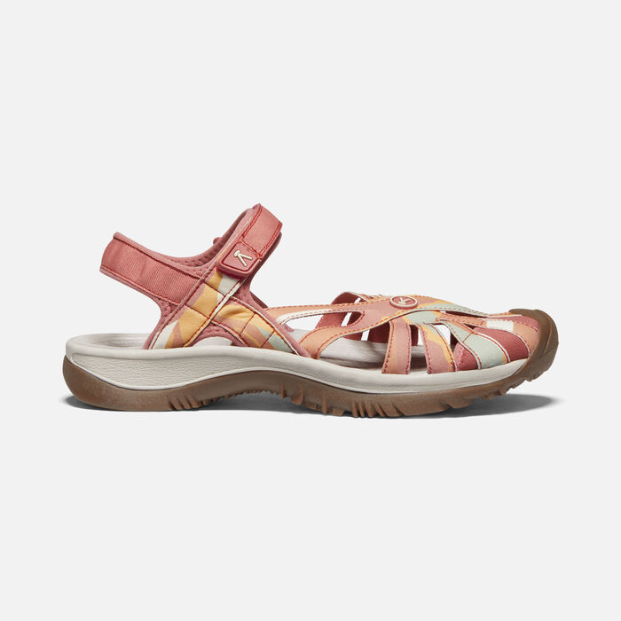 Women's Rose Sandal in Brick Dust/Multi - large view.