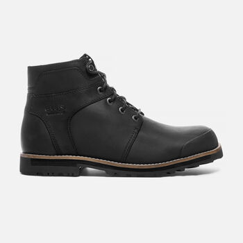 Men's 'THE ROCKER' Waterproof Boot in Black/Black - large view.