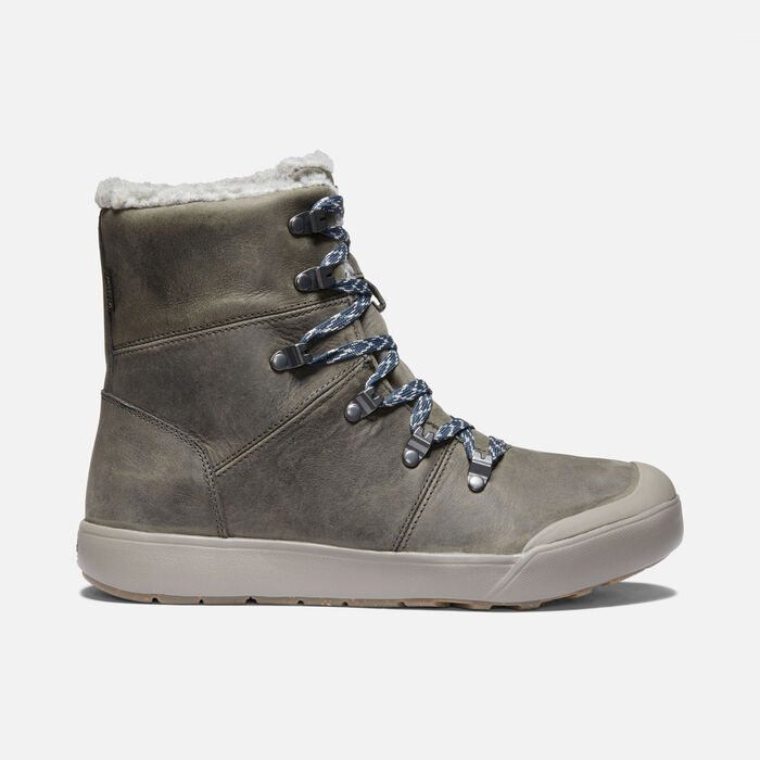 Women's Elena Hiker Waterproof Boot in Pewter/Drizzle - large view.