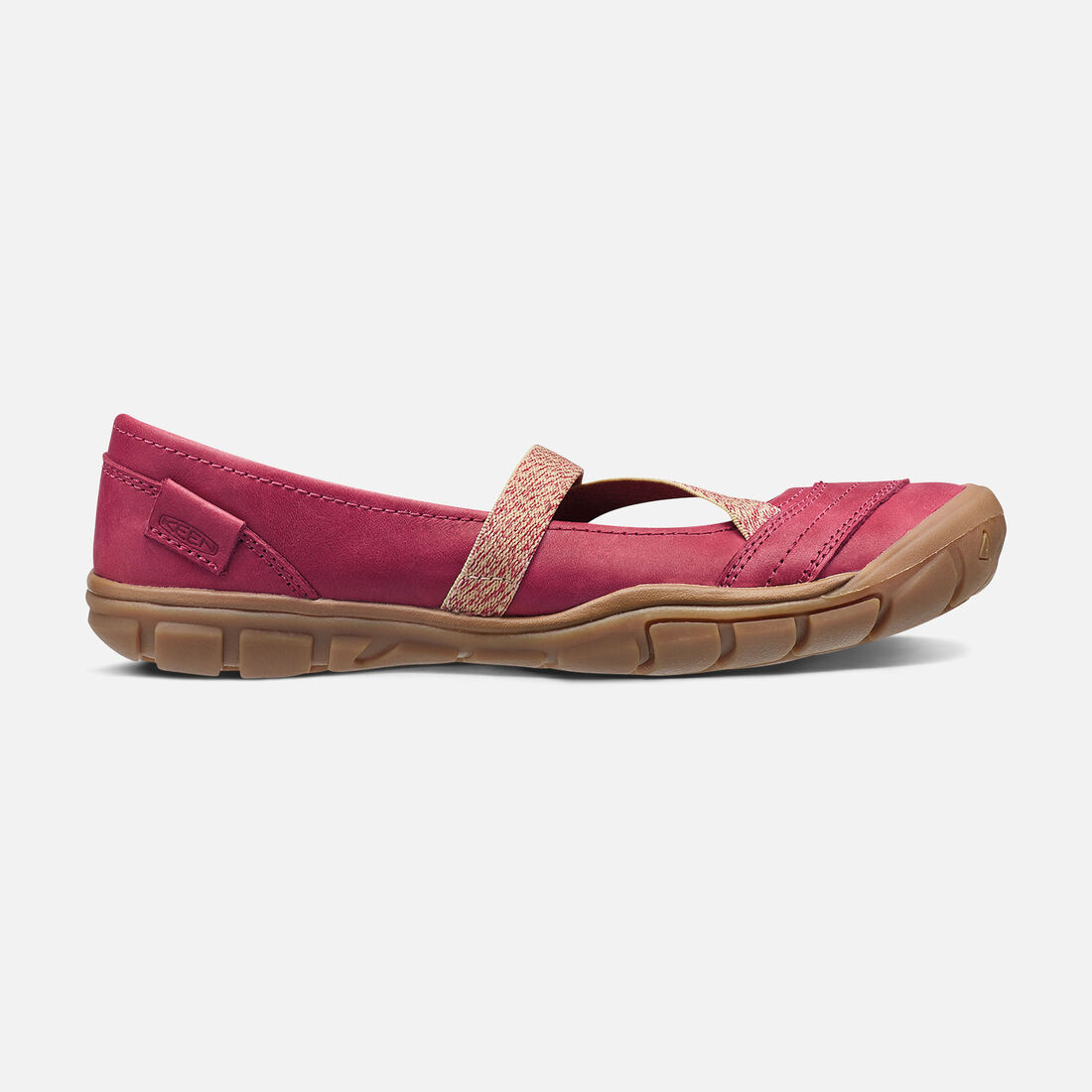Women's Rivington II Criss-Cross CNX in Crimson - large view.