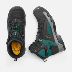 CSA Davenport Waterproof Mid (Composite Toe) pour homme in Black/Deep Teal - small view.