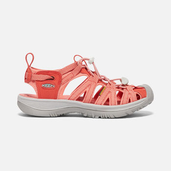 WOMEN'S WHISPER SANDALS in SUMMER FIG/CRABAPPLE - large view.