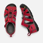 Big Kids' SEACAMP II CNX in RACING RED/GARGOYLE - small view.
