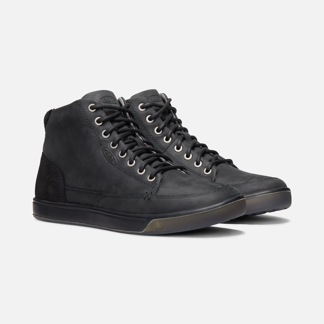 50869b5a9e324 Men's Glenhaven Mid Sneaker Boots - Leather Lace-Up Sneakers | KEEN ...