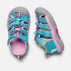YOUNGER KIDS' NEWPORT H2 SANDALS in Viridian Dots - small view.