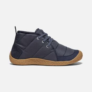 Women's Howser Quilted Chukka in BLUE NIGHTS/GUM - large view.