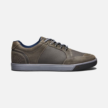 MEN'S GLENHAVEN EXPLORER CASUAL TRAINERS in ALCATRAZ/RAVEN - large view.
