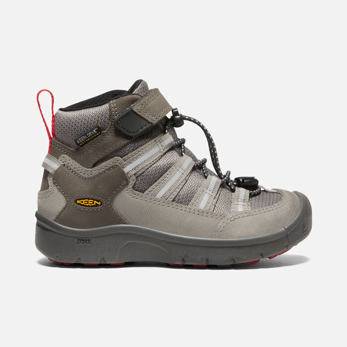 Younger Kids' Hikeport II Sport Waterproof Trainer Boots in Magnet/Chili pepper - large view.