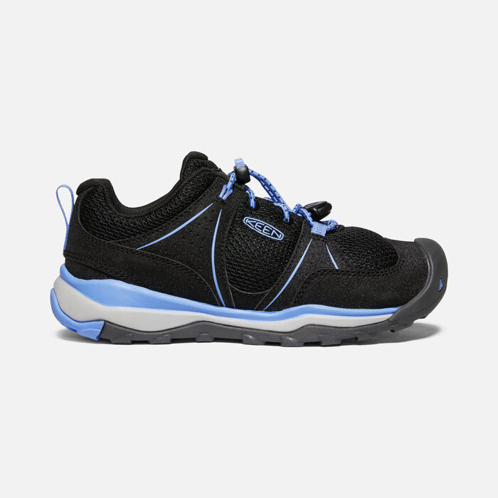 Big Kids' Terradora II Sport Shoe in Black/Della Blue - large view.