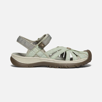Women's Rose Sandal in LILY PAD/CELADON - large view.