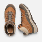 Women's TERRADORA LEATHER Waterproof Mid in Timber/Cornstalk - small view.