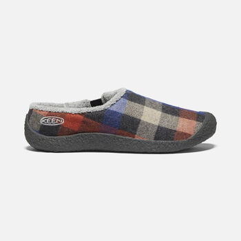 FEMMES HOWSER SLIDE in MULTI PLAID/RAVEN - large view.