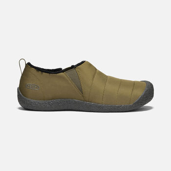 Men's Howser II Slipper in DARK OLIVE/RAVEN - large view.