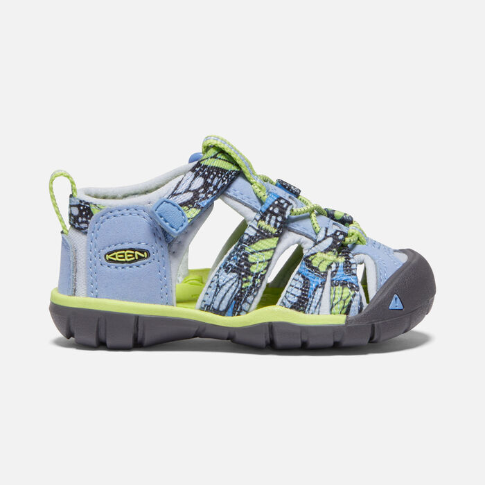 Toddlers' Seacamp II Cnx Sandals in Hydrangea/Sharp Green - large view.