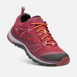 Women's TERRADORA Waterproof in Rhododendron/Marsala - small view.