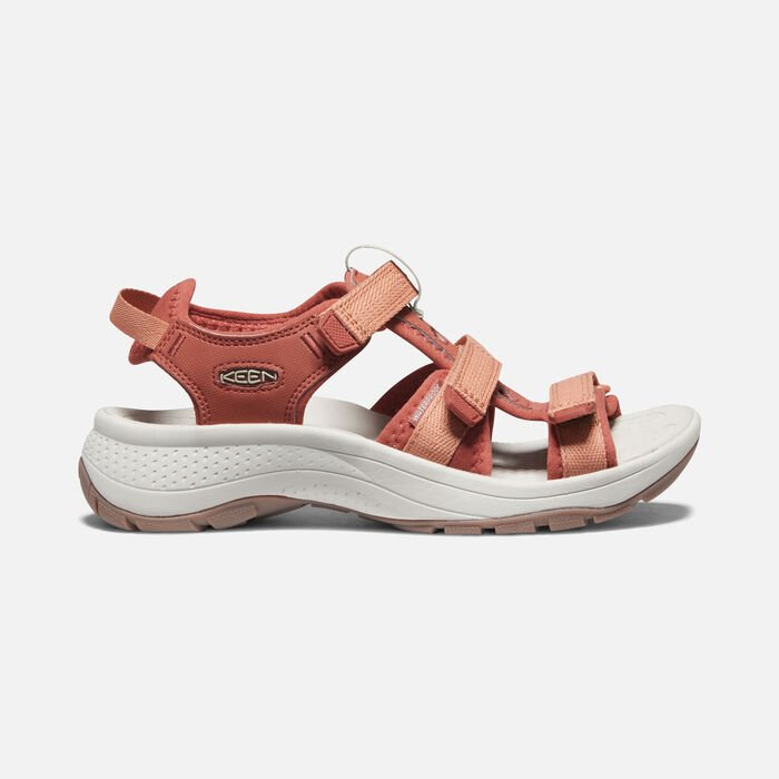 Women's Astoria West Open-Toe Sandals in Redwood/Pheasant - large view.