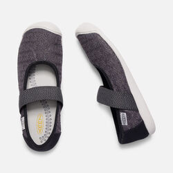 Women's Sienna Canvas Mary Jane in MAGNET/BLACK - small view.
