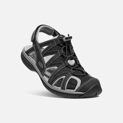 Women's Sage Sandal in Black/Black - small view.