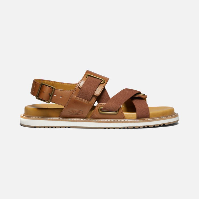 Women's Lana Z-Strap Sandal in Tortoise Shell/Silver Birch - large view.