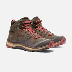 Women's TERRADORA Waterproof Mid in Canteen/Marsala - small view.