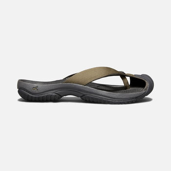 MEN'S WAIMEA H2 SANDALS in DARK OLIVE/BLACK OLIVE - large view.