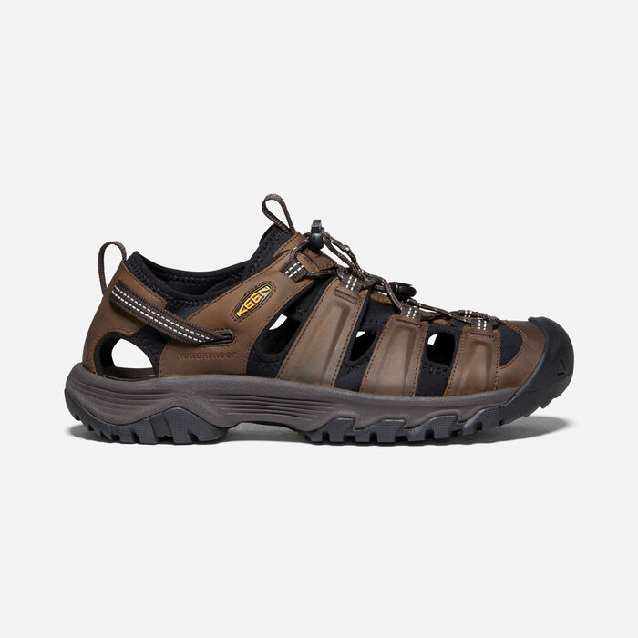 Men's Targhee III Sandal in Bison/Mulch - large view.