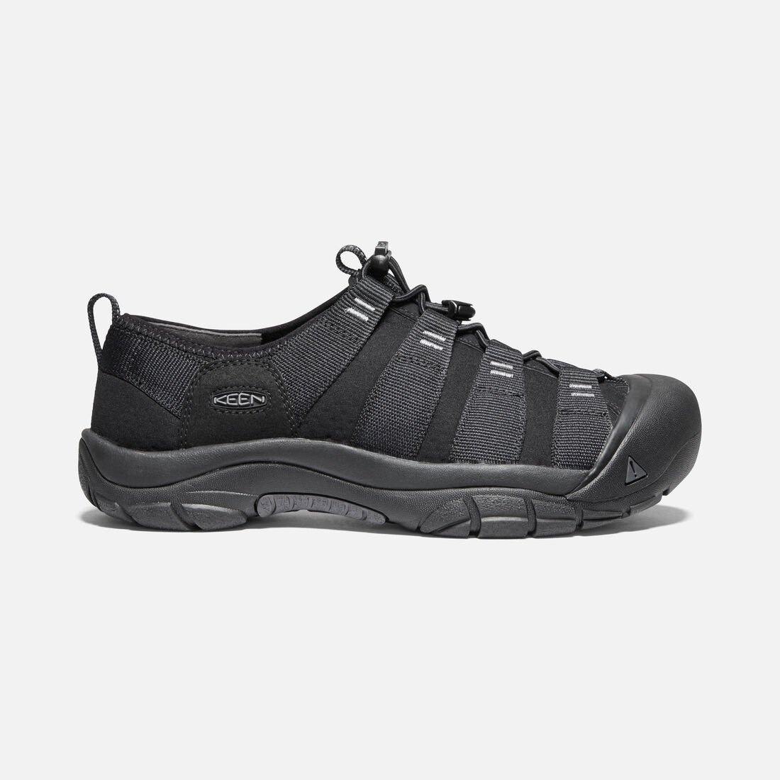 Men's Riverport in BLACK/BLACK - large view.