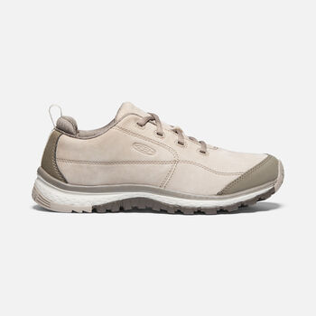 Women's Terradora Leather Trainer Shoes in PURE CASHMERE/BRINDLE - large view.