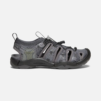 WOMEN'S EVOFIT 1 SANDALS in HEATHERED BLACK/MAGNET - large view.