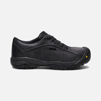Women's CSA SANTA FE OXFORD (Aluminum Toe) in BLACK - large view.